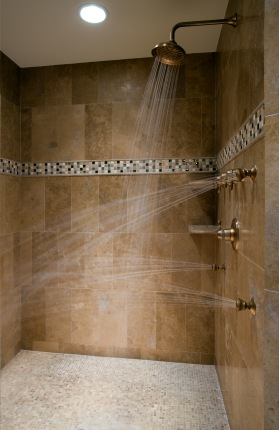 Shower Plumbing in Spanaway WA by All About Rooter LLC.