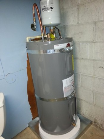 After New Hot Water Heater Water Installed in Bellevue, WA